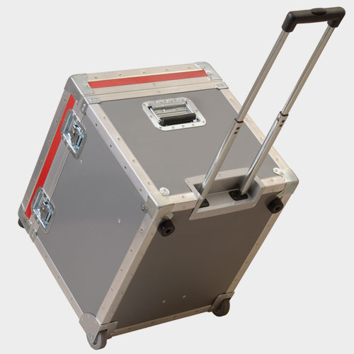 Foam Fitted ATA Case, with wheels and handle