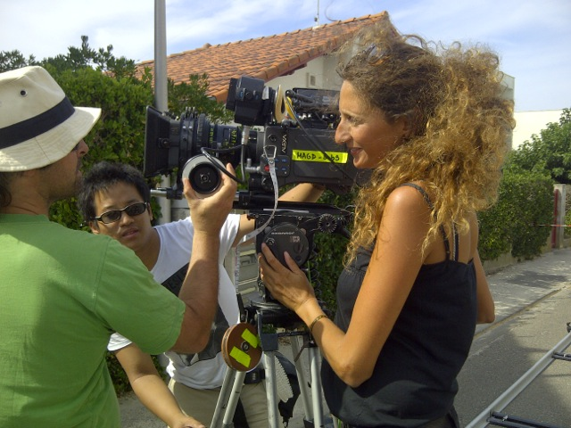 Cinematographer Maura Morales Bergmann, AIC, depends on the OConnor 2575 fluid during the tight shooting schedules of the short film L'heure bleue.