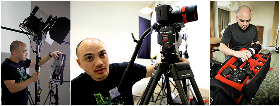 Lan Bui, OConnor 1030D, Sola 6 and 1x1, and Canon C300